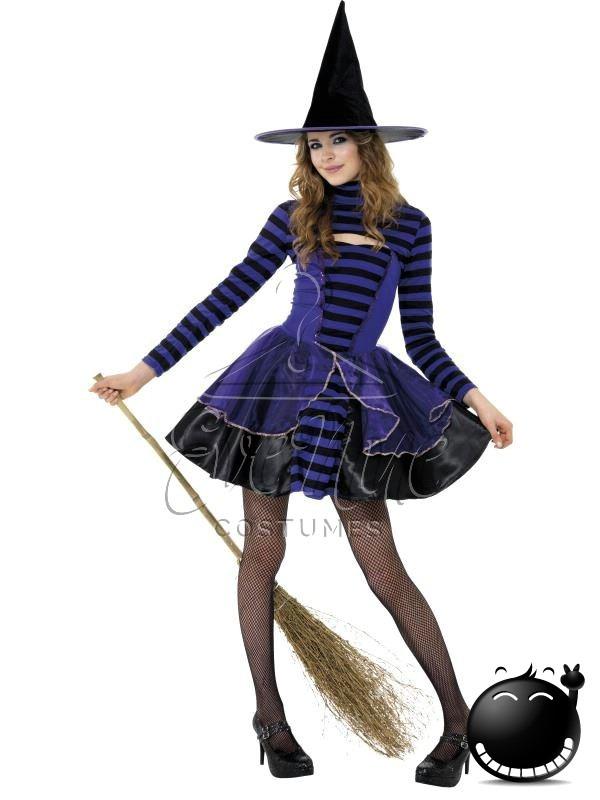 Boszorkány Halloween lányka jelmez az EveNue COSTUMES jelmezkölcsönző szalon kínálatából