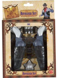 Vadnyugati fegyver készlet az EveNue COSTUMES jelmezkölcsönző szalon kínálatából