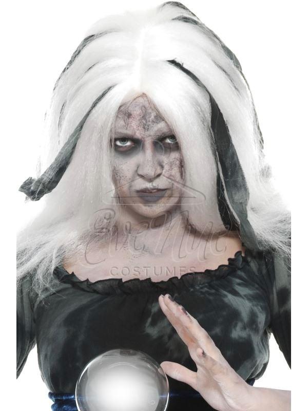 Boszorkány női halloween paróka az EveNue COSTUMES jelmezkölcsönző szalon kínálatából