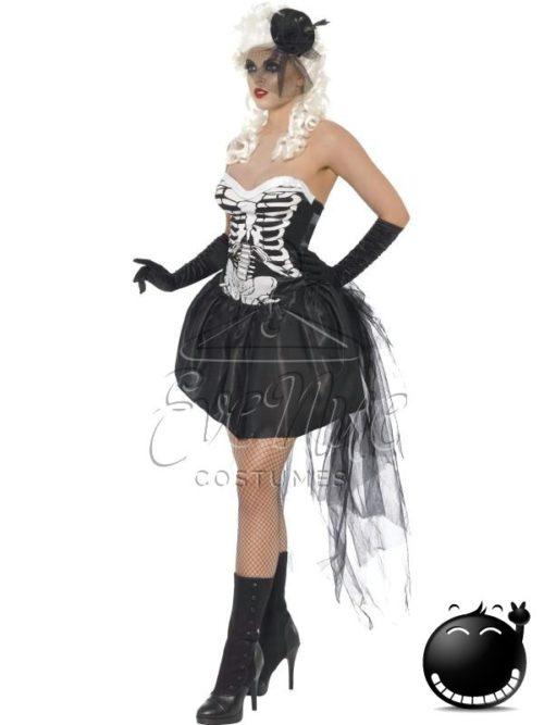 Csontváz női jelmez az EveNue COSTUMES jelmezkölcsönző szalon kínálatából