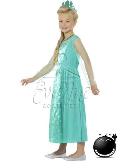 Jéghercegnő lány jelmez az EveNue COSTUMES jelmezkölcsönző szalon kínálatából