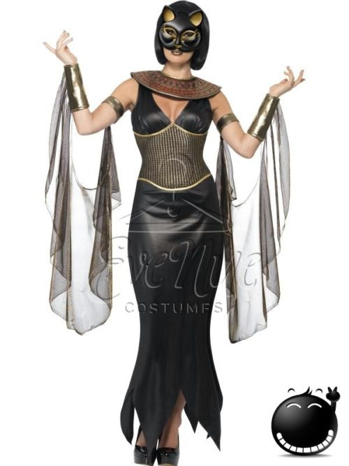 Macska Istennő női jelmez az EveNue COSTUMES jelmezkölcsönző szalon kínálatából