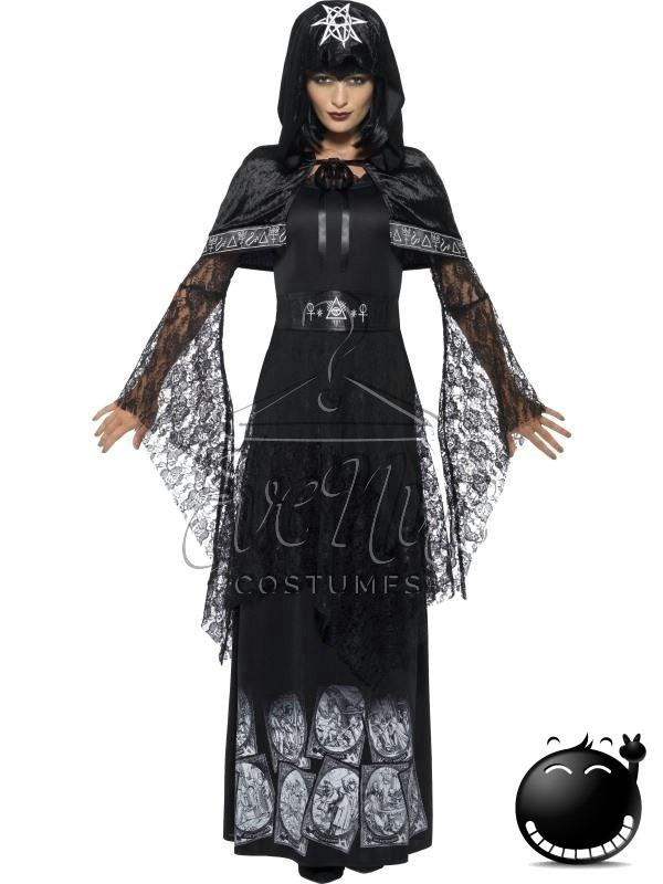 Sötét mágia mestere női jelmez az EveNue COSTUMES jelmezkölcsönző szalon kínálatából