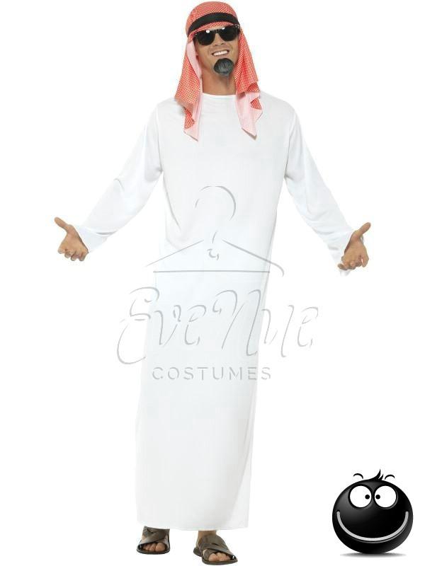 Sheik férfi jelmez az EveNue COSTUMES jelmezkölcsönző szalon kínálatából