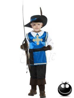 Muskétás fiú jelmez az EveNue COSTUMES jelmezkölcsönző szalon kínálatából