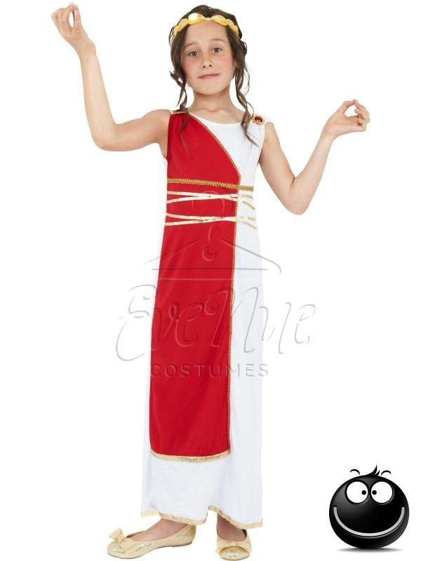Ókori görög lány jelmez az EveNue COSTUMES jelmezkölcsönző szalon kínálatából