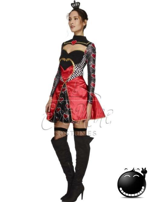 Szívkirálynő halloween női jelmez az EveNue COSTUMES jelmezkölcsönző szalon kínálatából