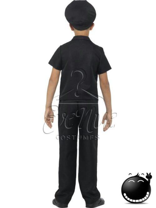 Rendőr fiú farsangi jelmez az EveNue COSTUMES jelmezkölcsönző szalon kínálatából