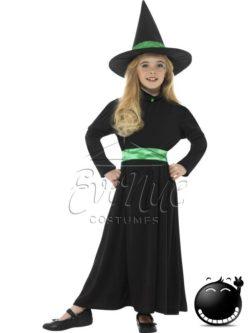 Boszorkány halloween lány jelmez az EveNue COSTUMES jelmezkölcsönző szalon kínálatából