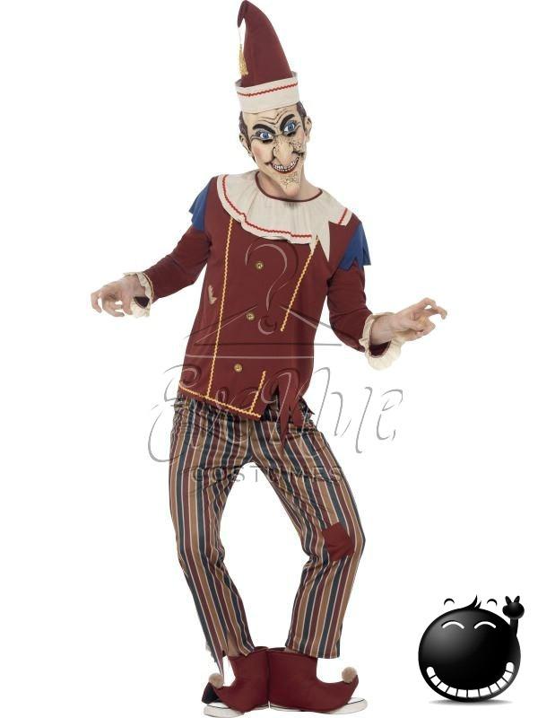 """Megszállott """"Punch"""" halloween férfi jelmez az EveNue COSTUMES jelmezkölcsönző szalon kínálatából"""