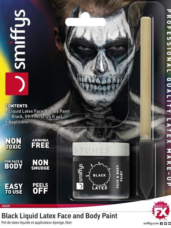 Neon csontváz halloween smink készlet az EveNue COSTUMES jelmezkölcsönző szalon kínálatából