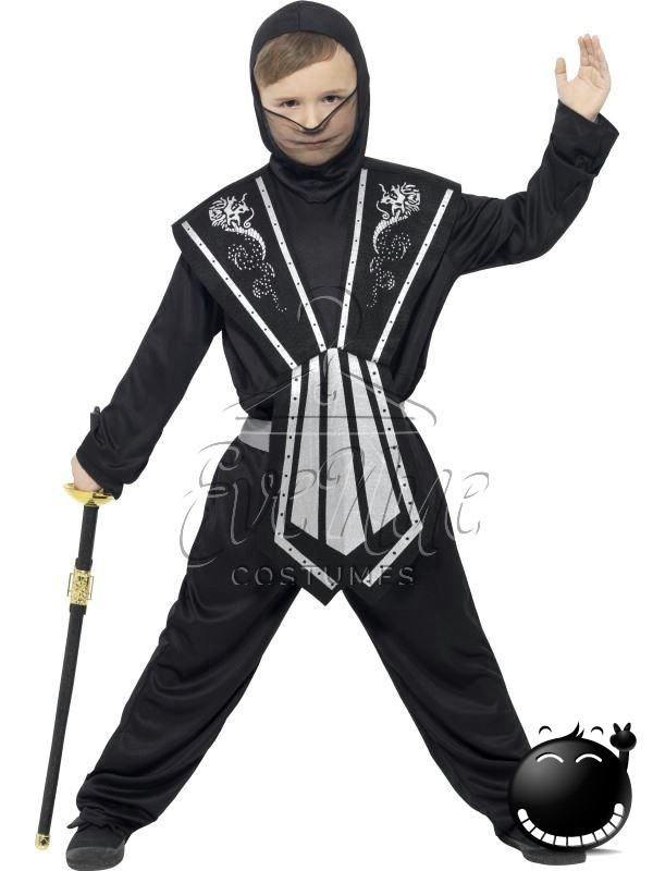 Ninja fiú farsangi jelmez az EveNue COSTUMES jelmezkölcsönző szalon kínálatából