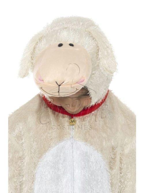 Bárány farsangi jelmez az EveNue COSTUMES jelmezkölcsönző szalon kínálatából