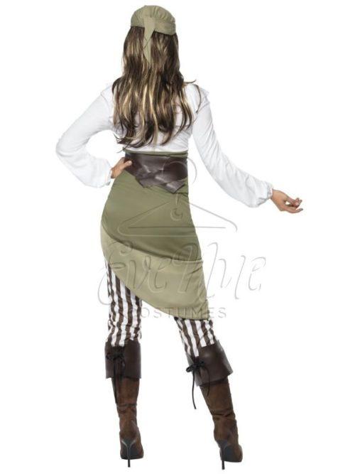Női kalóz jelmez az EveNue COSTUMES jelmezkölcsönző szalon kínálatából
