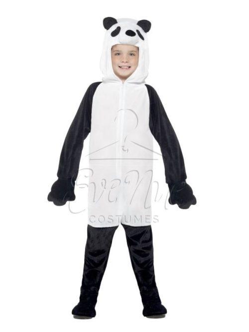 Panda gyermek farsangi jelmez az EveNue COSTUMES jelmezkölcsönző szalon kínálatából